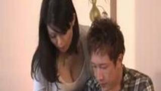 【無料動画】縛乳なジュクジョ家庭教師に一発お願いしたらeroいベロキスしてきたw