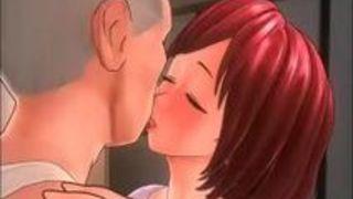 エロアニメ 巨乳 人妻 義父 同人